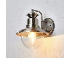 Applique extérieure Gwendolyn Inox Extérieur Lampe extérieure E27 - LAMPENWELT