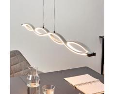 Suspension LED Tura lampe suspendue table salle à manger moderne LED - LAMPENWELT