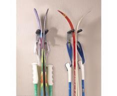 Crochet porte skis et bâtons Mottez F205G