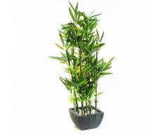 "Plante Artificielle "" Bambou "" - Dim : H.76 cm - PEGANE"