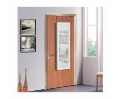 Songmics Armoire à bijoux armoire de rangement mural armoire accrochée à la porte avec serrure et