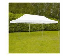 Tente pliante 4x8m 300g/m² 40mm Blanche - MOBEVENTPRO
