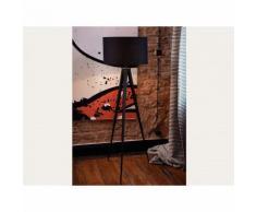 Lampadaire design - luminaire - lampe de salon - noir - Stiletto - BELIANI