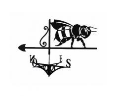Girouette artisanale abeille - ICKO APICULTURE