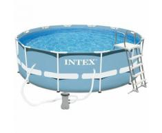 Piscine tubulaire Intex ronde 3,66 x 1,22 m