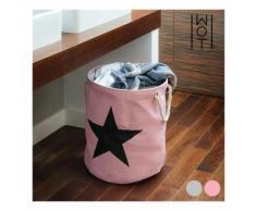 Panier à Linge sale Black Star Wagon Trend-Couleur-Gris