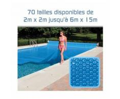Bâche à Bulles 300 Microns pour piscine 4m x 15m - LINXOR