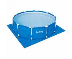 BESTWAY - Bâche au sol piscine 396x396cm Tapis XXL Protection sol - PE - DEUBA