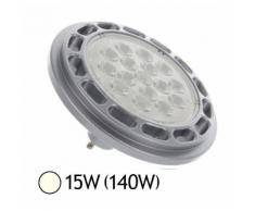 Spot LED 15W (140W) ES111 GU10 Blanc jour 4000°K - VISION-EL