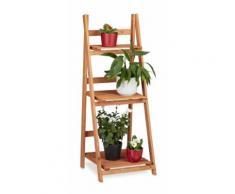 Escalier étagère meuble pour plantes bois 107 cm - HELLOSHOP26