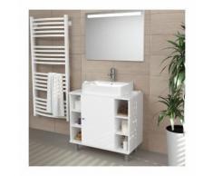 Meuble sous lavabo ISLANDA 60 x 54 x 32 cm - ZOOPET