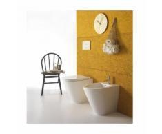 BIDET à poser - forty3 - 52 x 36 cm - cod FO010 - Ceramica Globo | Noir brillant - Globo NE