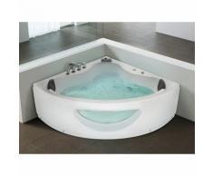 Baignoire d'angle - baignoire balnéo / whirlpool - hydromassage & chromothérapie - Tocoa - BELIANI