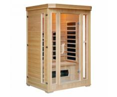 CABINE SAUNA INFRA ROUGE 2 PLACES LUXE - CONCEPT-USINE