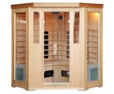 CABINE SAUNA LUXE INFRAROUGE 3/4 PLACES - CONCEPT-USINE