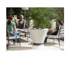 IKONE TABLE HAUTE POUR POT AVEC TABLETTE - EDA