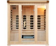CABINE SAUNA LUXE INFRAROUGE 4/5 PLACES - CONCEPT-USINE