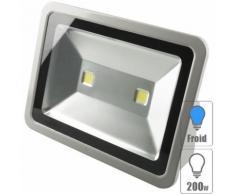 Projecteur led extérieur 200w Blanc froid - TECHBOX