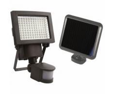 Projecteur solaire à détection 108 LEDs 1000 Lumens - AREV