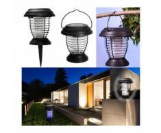 Lanterne anti-moustique énergie solaire 2 en 1 lampe anti-insecte - PROBACHE