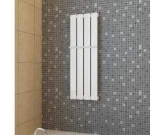 vidaXL Porte-serviette 311mm + Radiateur panneau blanc x 900mm