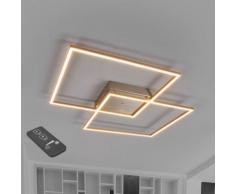 Plafonnier LED Mirac Futuriste LED Lumineux Puissant Télécommande Variable - LAMPENWELT