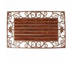 Paillasson tapis fonte rouleaux coco interchangeables - 74 x 46 cm - ESSCHERT DESIGN