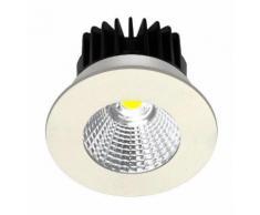 Spot led COB 6 watt (eq. 50 watt) étanche encastrable - Finition - Blanc - ARCOTEC