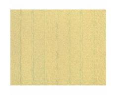Papier peint rayé XXL intissé EDEM 952-22 structure gaufrée aspect fourure beige brun clair