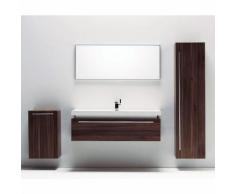Ensemble complet meuble de salle de bain RIO 1 vasque 1 miroir - CASA BAOLI