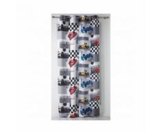 """Rideau enfant en microfibre imprimé """"Formule 1 """" Multicolore 140 x 240 cm - HOMEMAISON"""