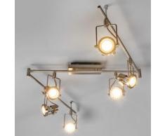 Plafonnier LED Agidio spot de plafond LED GU10 lampe salon couloir cuisine - LAMPENWELT
