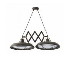 Lampe suspension de style moderne-Brun36 - FARO
