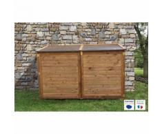 Coffre en bois & Local technique TROCADERO® - 2000L - CHALET & JARDIN