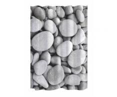 GELCO Rideau de douche Stone 180 x 200 cm gris