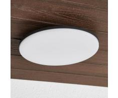 Plafonnier d'extérieur Benna IP65 LED détecteur rond extérieur lampe - LAMPENWELT