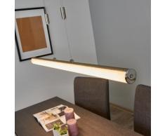 Suspension LED Cedric hauteur ajustable suspension LED en forme de tube - LAMPENWELT