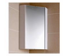 Armoire miroir d'Angle de Salle de Bains H. 55.6cm - HUDSON REED