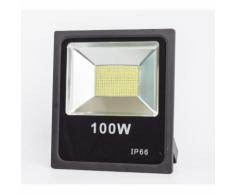 Projecteur LED 100W SMD Extra-Plat Blanc Froid - EUROPALAMP