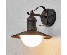 Applique LED Clea cuivre antique nostalgique LED applique d'extérieur - LAMPENWELT