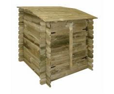 Coffre filtration piscine en bois - UBBINK