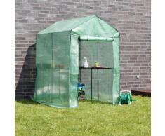 Serre de jardin 186x120x190cm CRISTIANO - ZOOPET