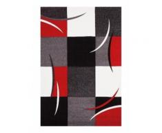 DIAMOND Tapis de salon Rouge 160x230cm - NAZAR