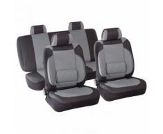 Housse de siège auto voiture Gris Set complet