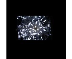 Guirlande lumineuse 300 leds blanche 8 fonctions 18 mètres
