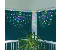 Guirlande demi lune multicolore 250 Led