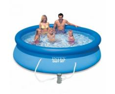 Piscine gonflable autoportante intex easyset 305 cm x 76 cm
