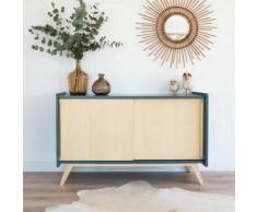 Enfilade, meuble tv, pieds compas Pénélope,