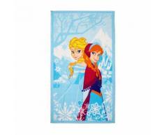 Frozen Tapis rectangulaire 80x140cm pour enfant Alinea Bleu