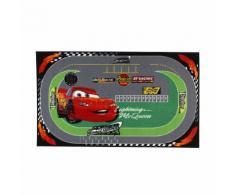 Cars Tapis rectangulaire 100x170cm motif circuit pour enfant Alinea Multicolore
